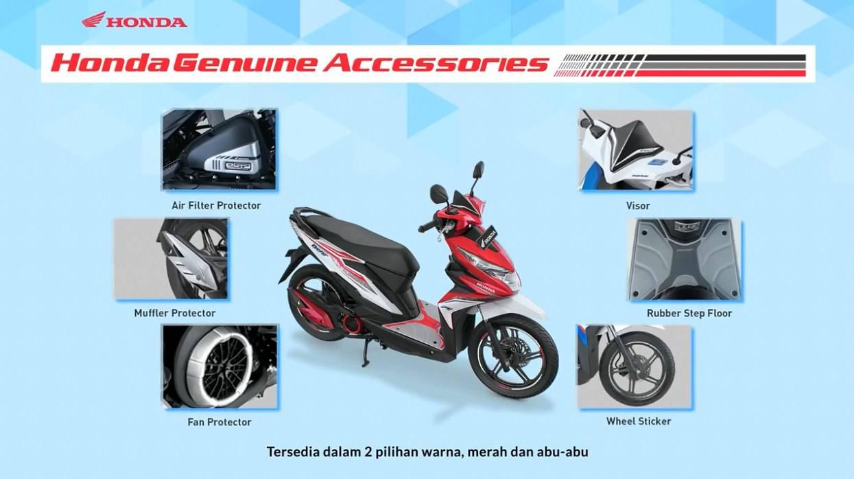 Ini Harga Accessories Resmi All New Honda Beat Cocok Buat Modif