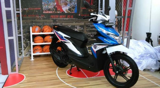 all new honda beat biru harga