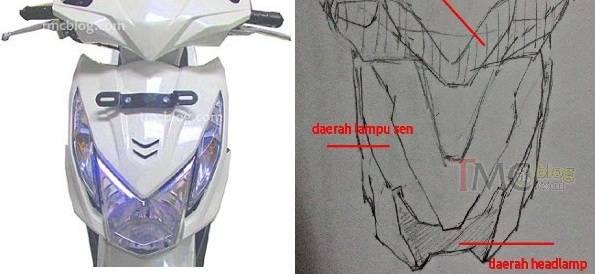 Pak Wak Haji Bocorin Sketsa Honda Beat Baru Tuh Pak Masih
