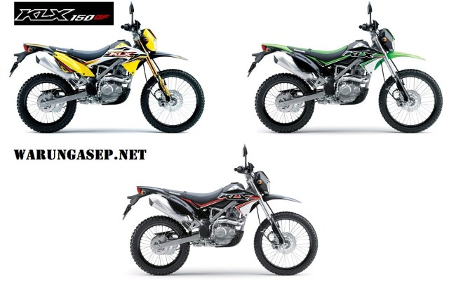 all new kawasaki klk bf 150 2017 warna baru