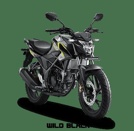 cb150r hitam strip kuning 2017