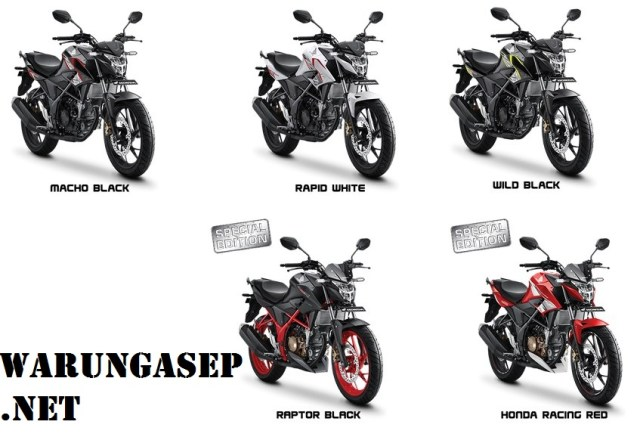 warna terbaru all new honda cb150r 2017