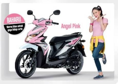 CiLukBaa Honda Beat Malaysia warna Pink