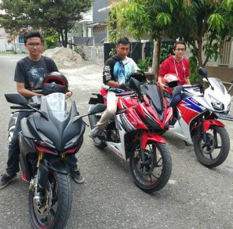 CBR series produksi astra Honda Motor