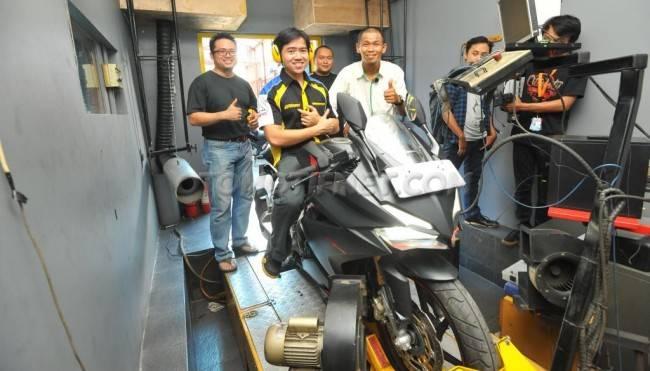 Honda CBR260RR Dites Dyno oleh Otomotifnet