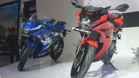 Pertama Di Dunia Suzuki Perkenalkan Gsx R150 Dan Gsx S150 Produk