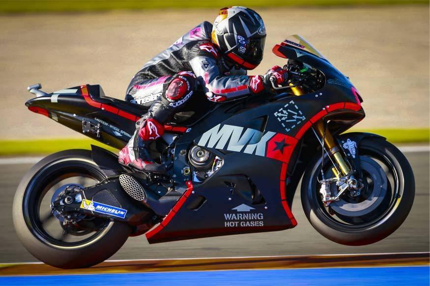 Maverick Vinales geber Yamaha YZR-M1 2017