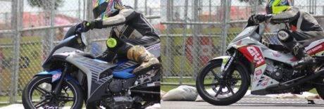 MX-King vs Supra GTR saat Petronas Cub Prix di Malaysia