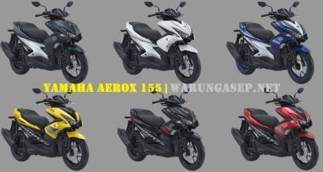 Mirip Kawasaki Ini Pilihan Warna Baru Yamaha Aerox