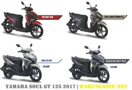 Inilah Yamaha Soul Gt 125 Sss Aks Versi 2017 Ada 4 Warna Harga