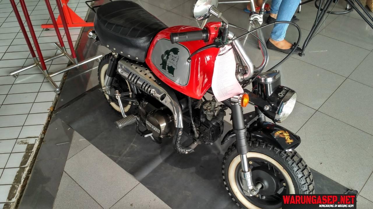 Ketemu Honda Monyet Ehh Honda Monkey Versi Custom WARUNGASEP