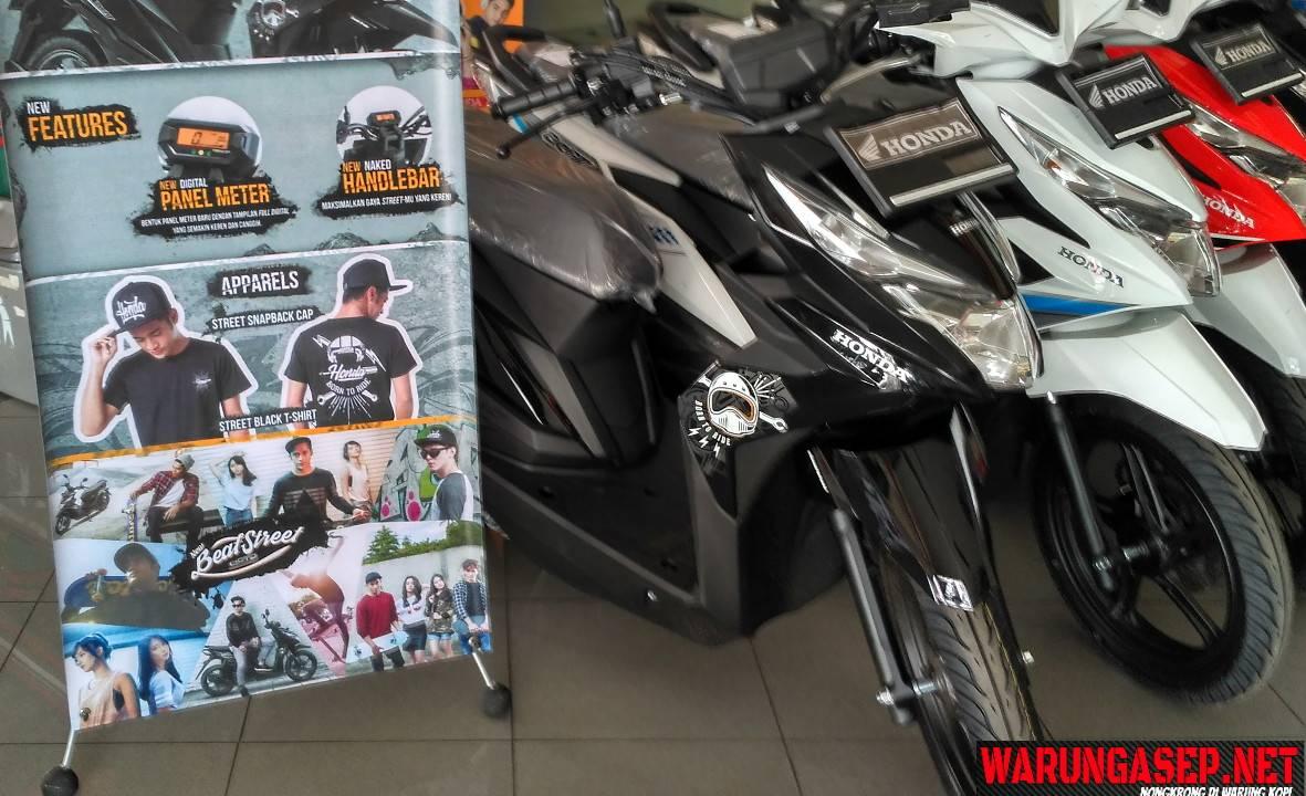 Harga Dan Cicilan Honda Beat Street 2017 Di Tasikmalaya Harganya Rp 15 575jutaan Warungasep