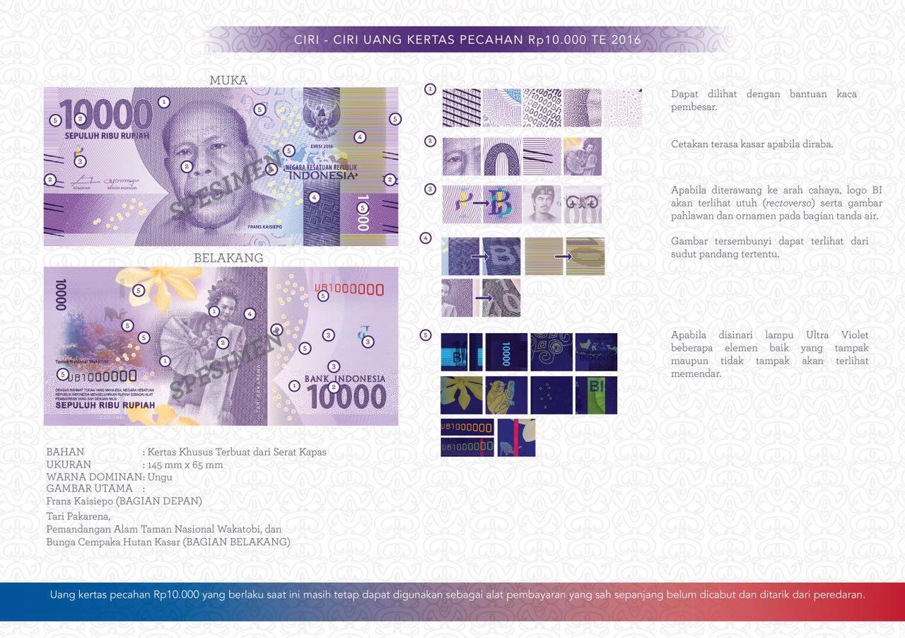 uang kertas baru 10ribu