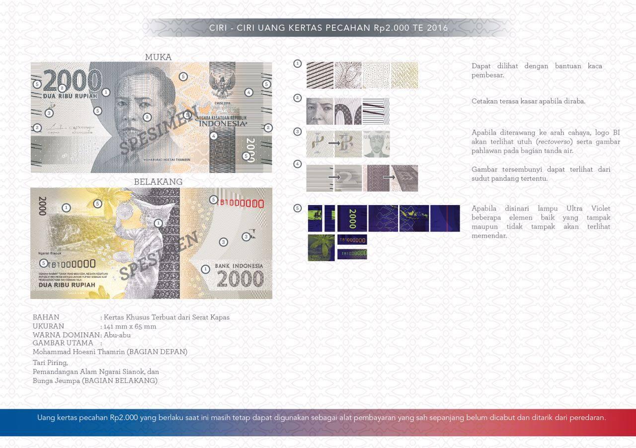 uang kertas baru 2000