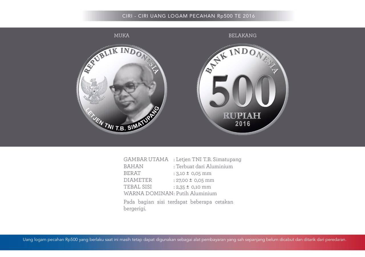 uang logam baru 500