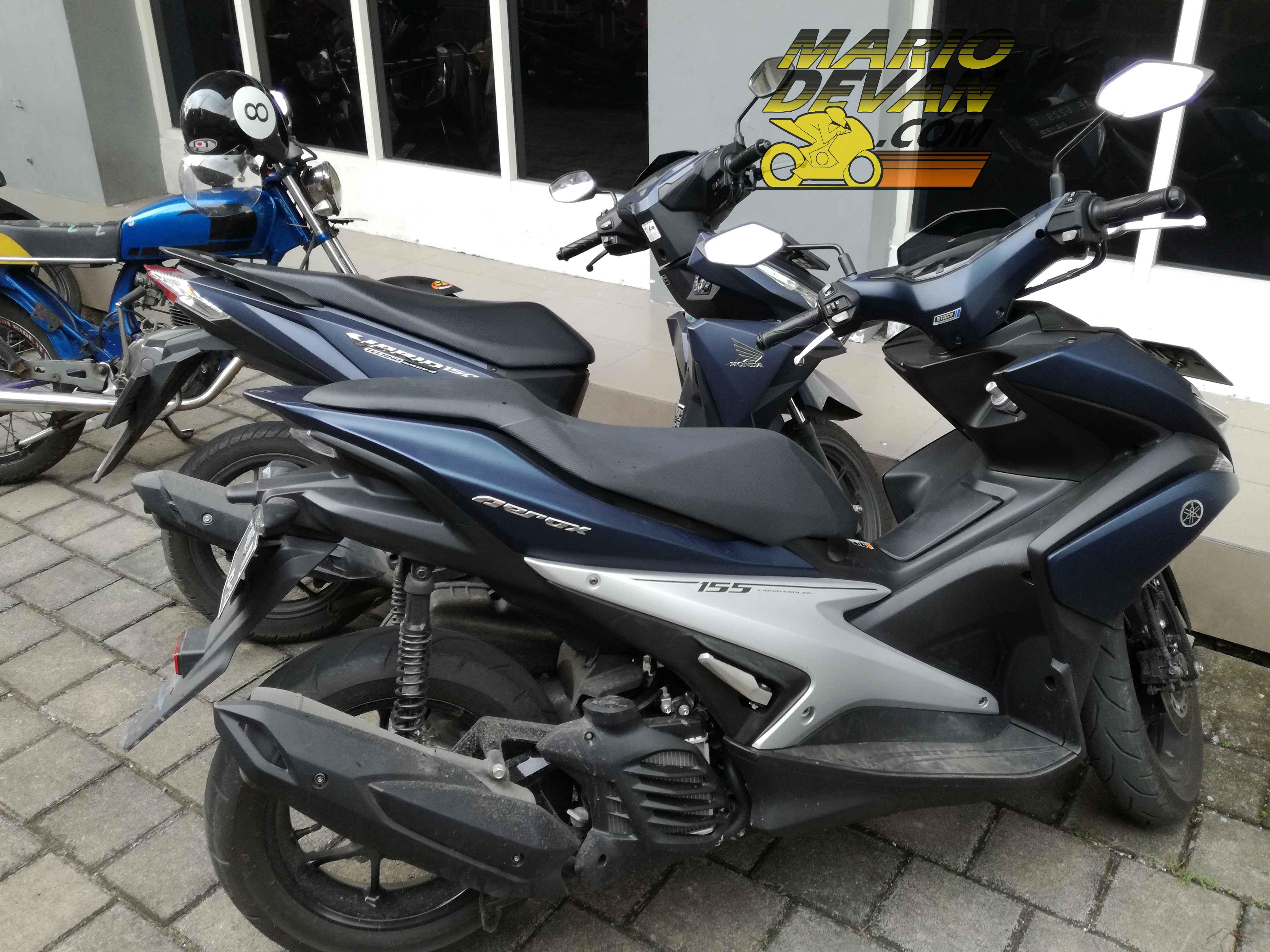 Perbandingan Fisik Yamaha Aerox Dan Honda Vario 150cc Vs 155cc Yang