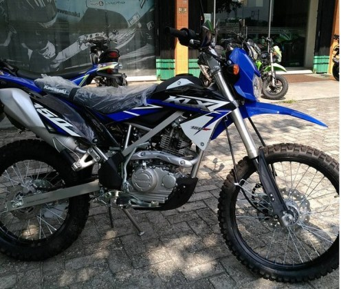 24 Gambar Motor Klx Warna Biru Trend Terbaru