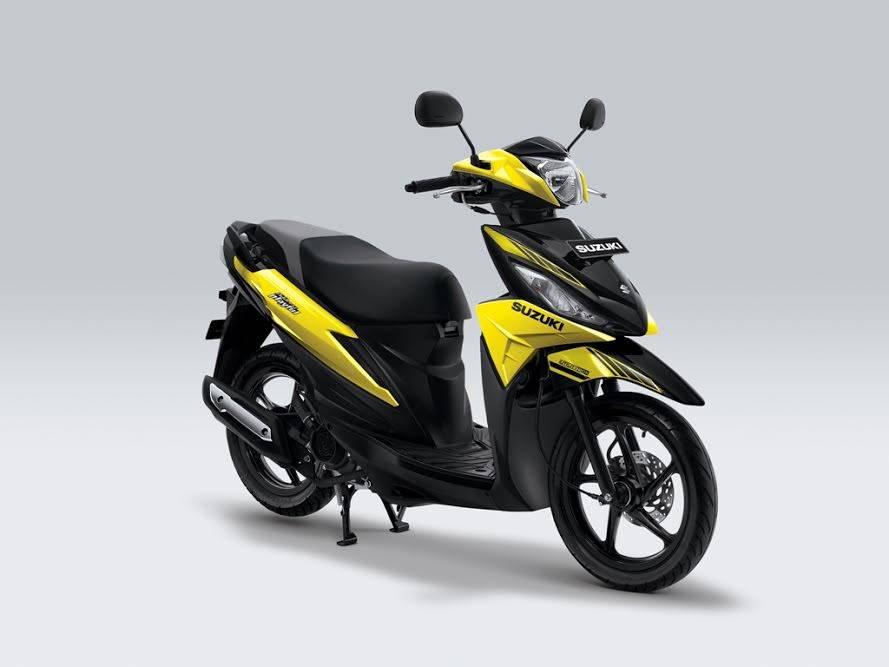 New Suzuki Address 2017 Playful kuning