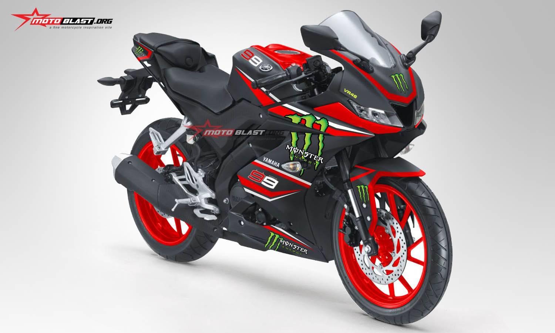 Download Kumpulan 93 Foto Modifikasi Motor Yamaha R15 Terunik