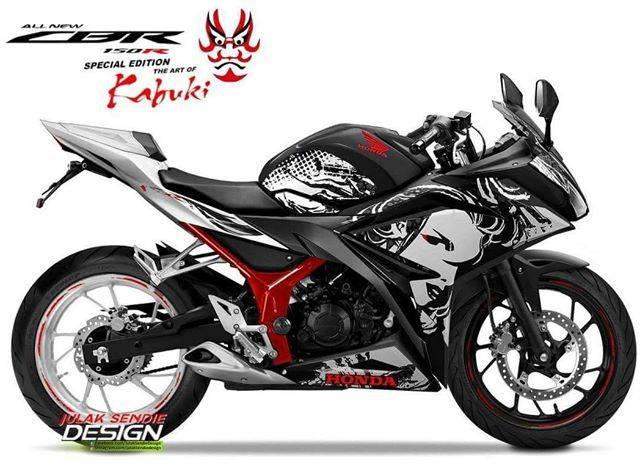 Honda CBR150R Kabuki Edition, Terasa Seperti Sang Kakak!