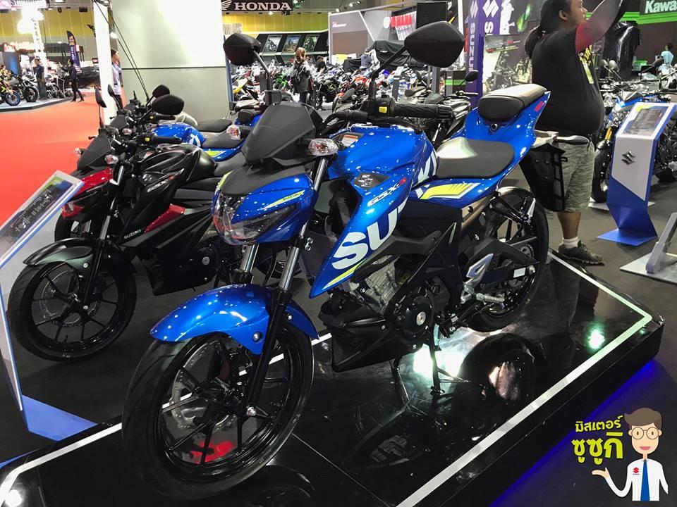Suzuki GSX-S150 Rilis di Thailand, Harganya Rp 32jutaan... Lho, Kok Desainnya Beda???