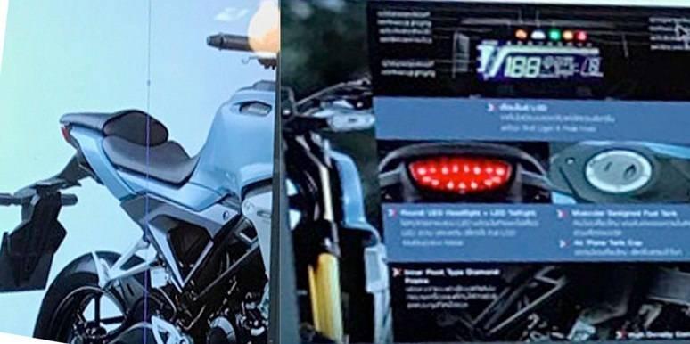 Calon Motor Sport Retro Honda Pakai Speedometer Negative LCD Backlight... Emang Lawan Xabre Nih!!!!