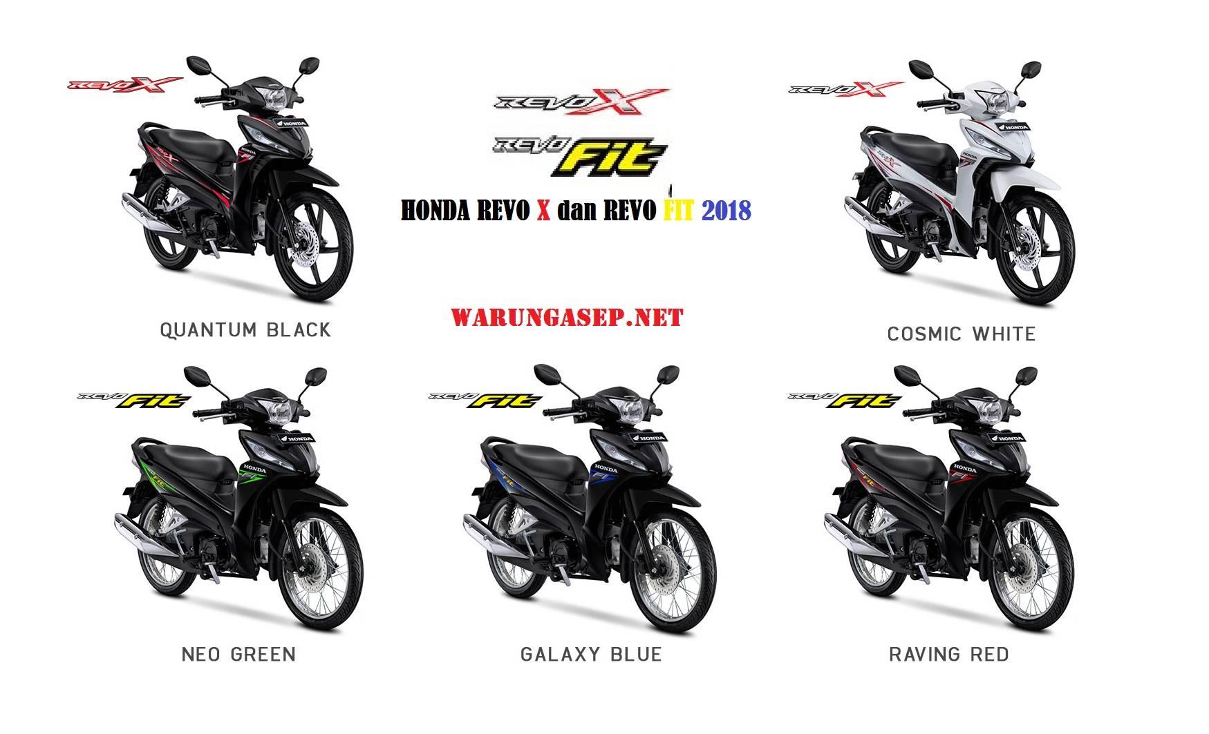Foto 5 Warna Baru Honda Revo X Dan Revo Fit 2018 Warungasep
