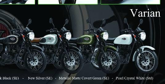 Foto 4 Pilihan Warna Kawasaki W175, Yang Silver Paling Retro Banget!