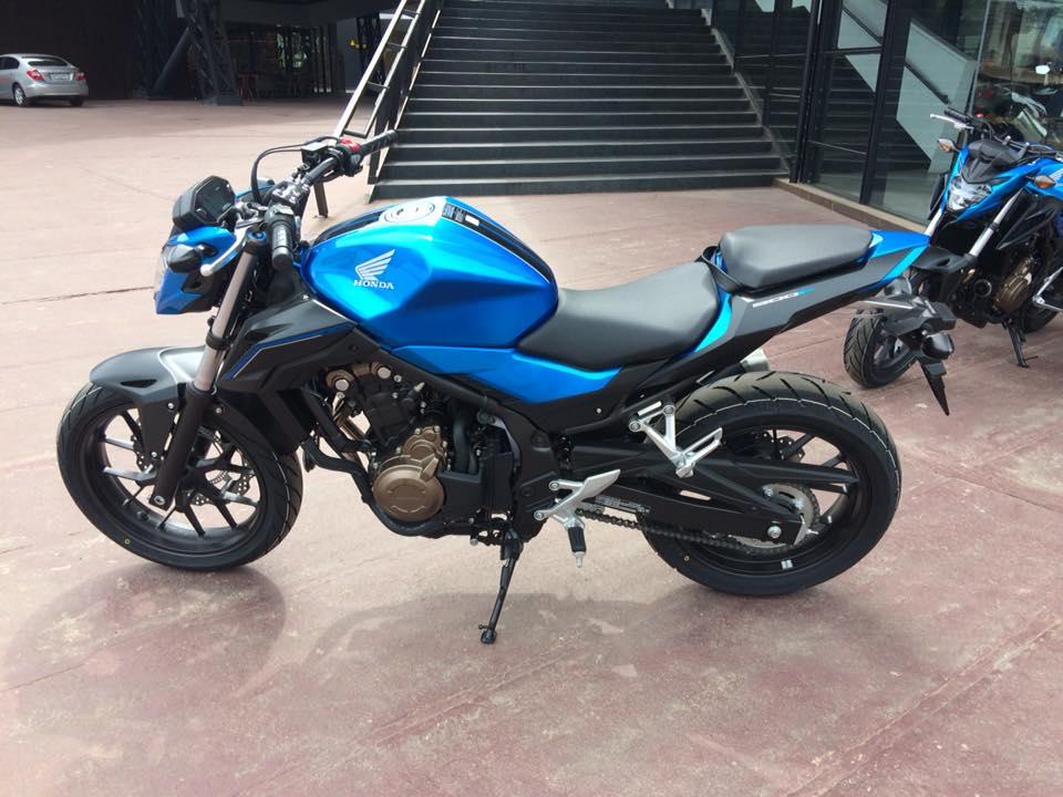 cb500f blue