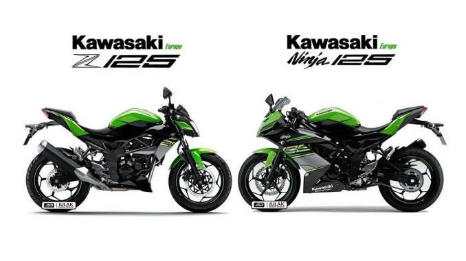 Gambaran Kawasaki Ninja 125 Dan Z125 2018 Karya Julak Sendie Pasti