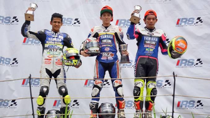 Pembalap Yamaha Kuasai Kejurnas IRS Sport 150cc » BMSPEED7.COM