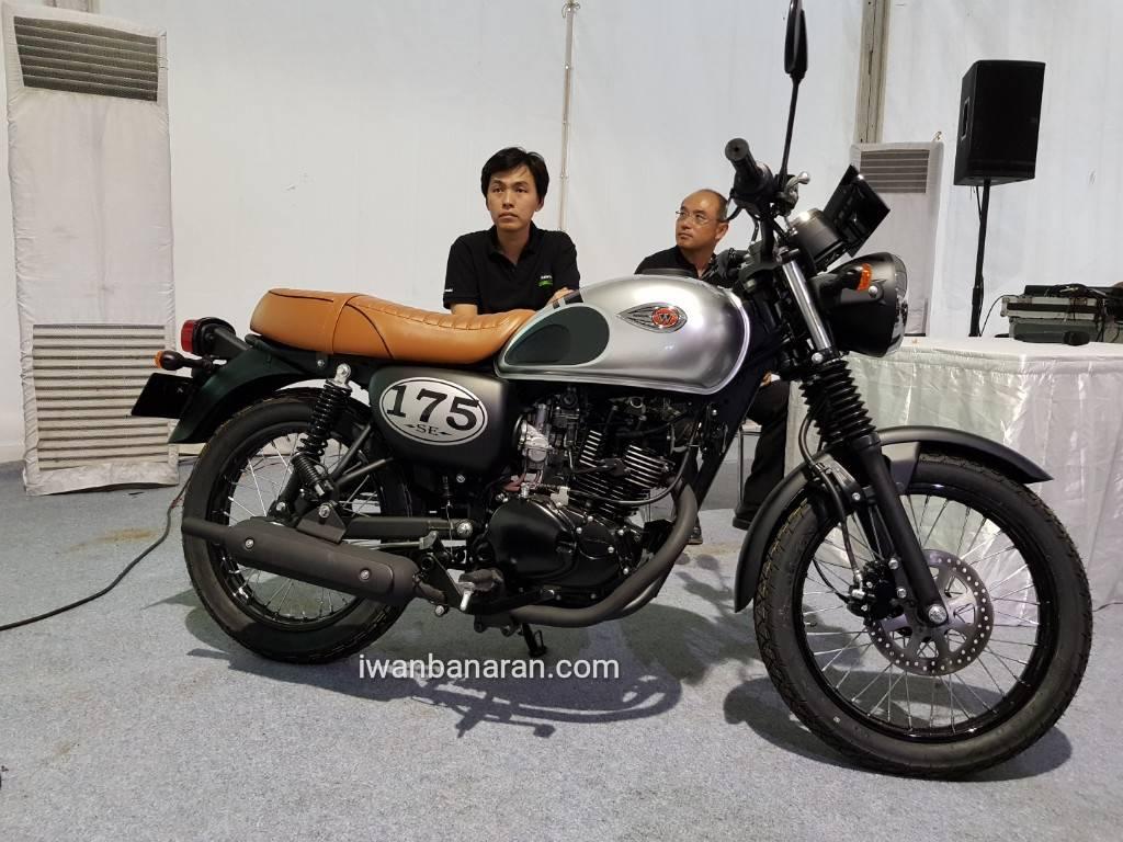 Harga Kawasaki W175 2018 Rp. 29,8jutaan, Resmi Dirilis di Indonesia