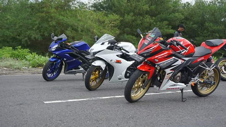 Data Penjualan CBR150R vs GSX-R150 dan New R15 November 2017