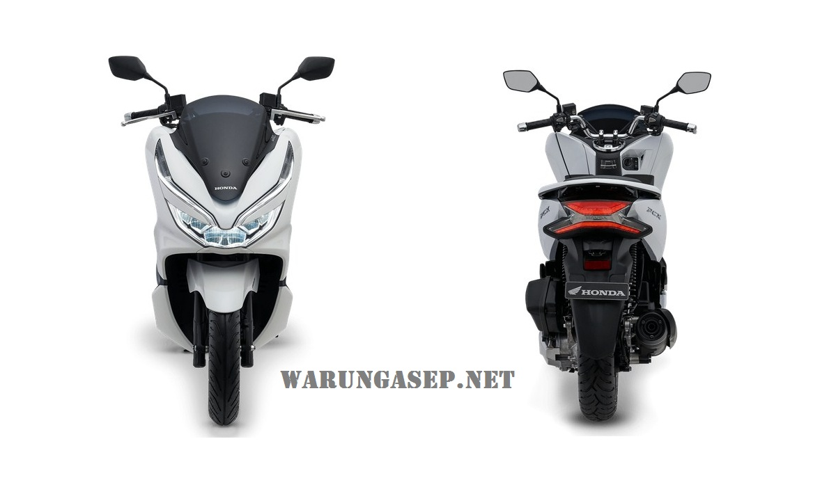 Photo Studio Honda PCX 150 Indonesia, Lengkap Ada 4 Warna