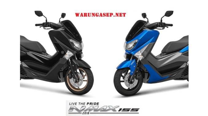 4 Warna Yamaha Nmax 2018 Terbaru Harga Termurah Rp 26 3 Juta Dan