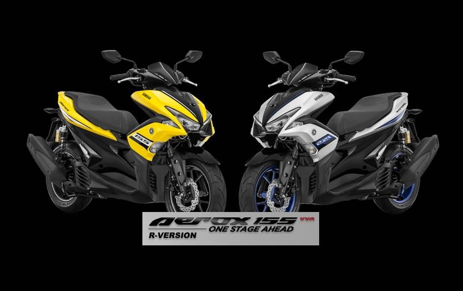 Aerox R Version Punya 2 Warna Baru, Silver dan Kuning.. Harga Rp 24jutaan