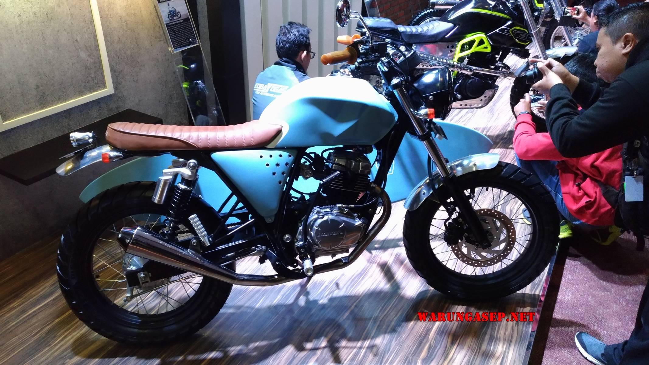 Modifikasi Honda CB150 Verza Bergaya JapStyle Karya Deus Exmachina