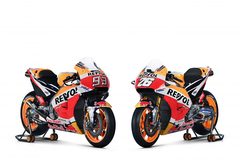 Galeri Foto Honda RC213V 2018, Lihat Juga Profil Marc Marquez dan Dani Pedrosa