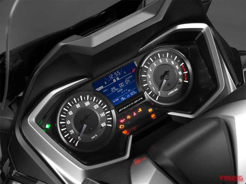 speedometer forza 300 2018