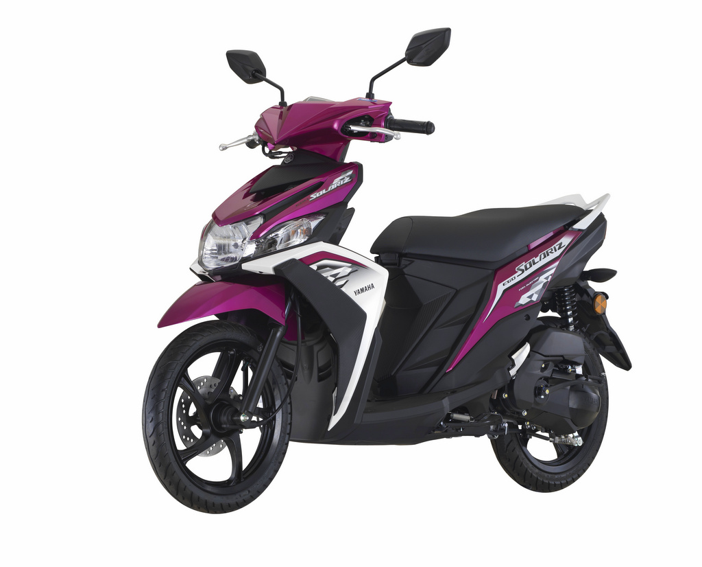 Yamaha Ego Solariz 2018, Mio M3-nya Malaysia Ada Warna ...