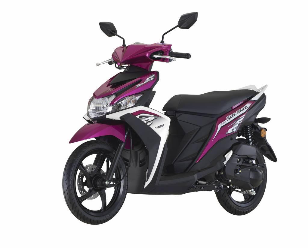 Yamaha ego solariz 2018 mio m3 nya malaysia ada warna ungu dan pink magenta harga rp 19jutaan warungasep