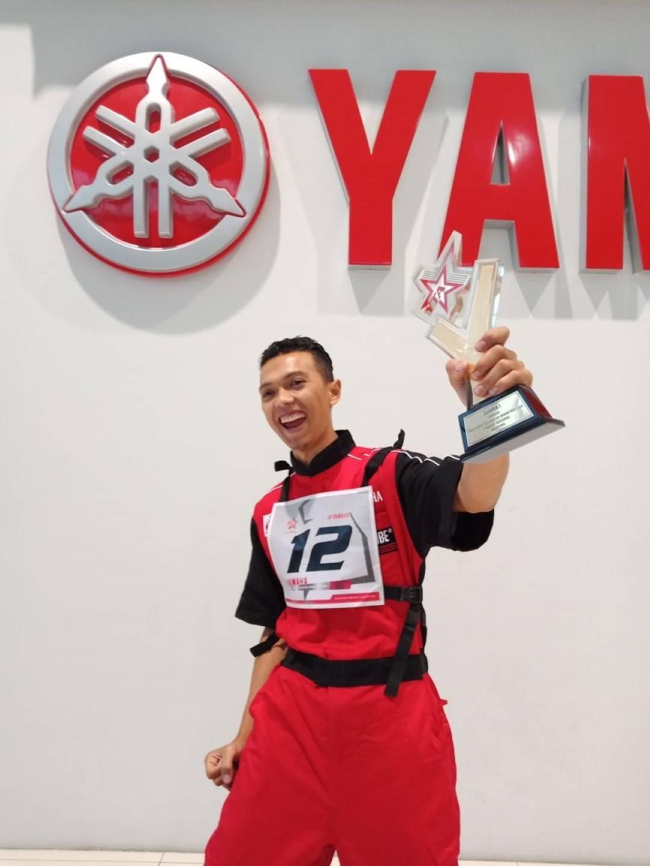 Teknisi Yamaha Berjuang Jadi yang Terbaik untuk Mewakili Indonesia di WTGP