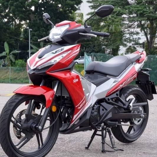 Sym Vf3i 2018 Super Moped 185cc Power 17 7 Hp Pesaing Mx King Dan