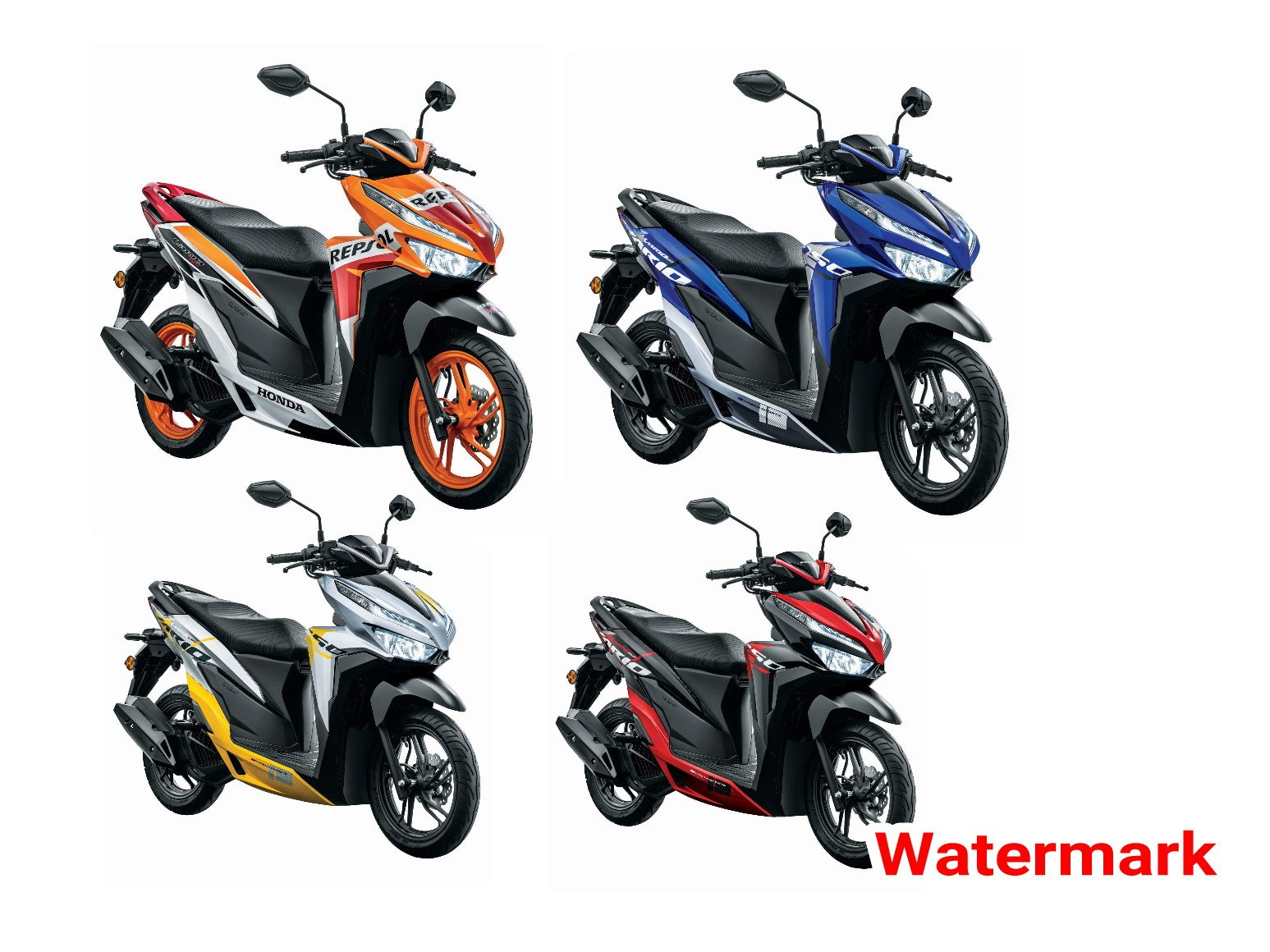 Honda Vario 150 Rilis Di Malaysia Ada 4 Warna Sporty Versi
