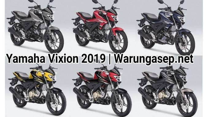 Yamaha Vixion 2019 Ada 6 Warna Baru Kuning Paling Keren Harga