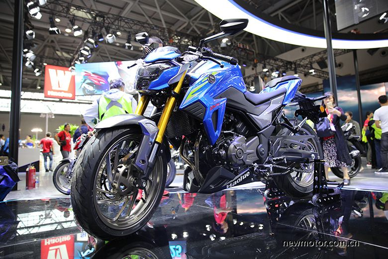 suzuki dr300 biru