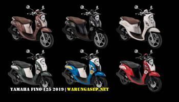 Yamaha Fino 125 2018 Ban Lebar dan Tubeless, Tambah 2 Warna