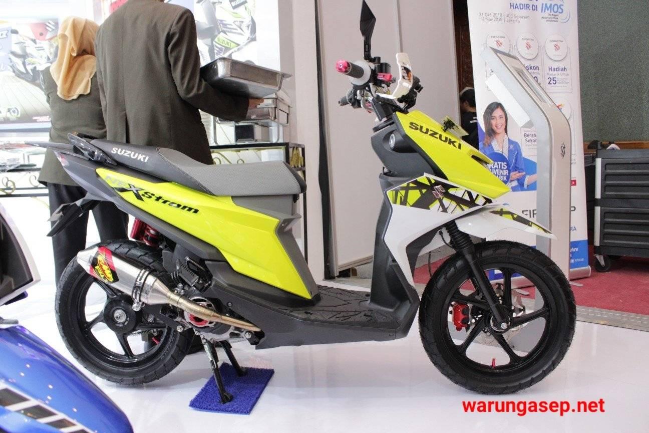 Koleksi Modifikasi Motor Suzuki Nex 2 Terkeren Wacana Modif Motor
