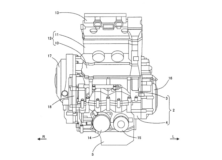 patent gsx-r250 mesin