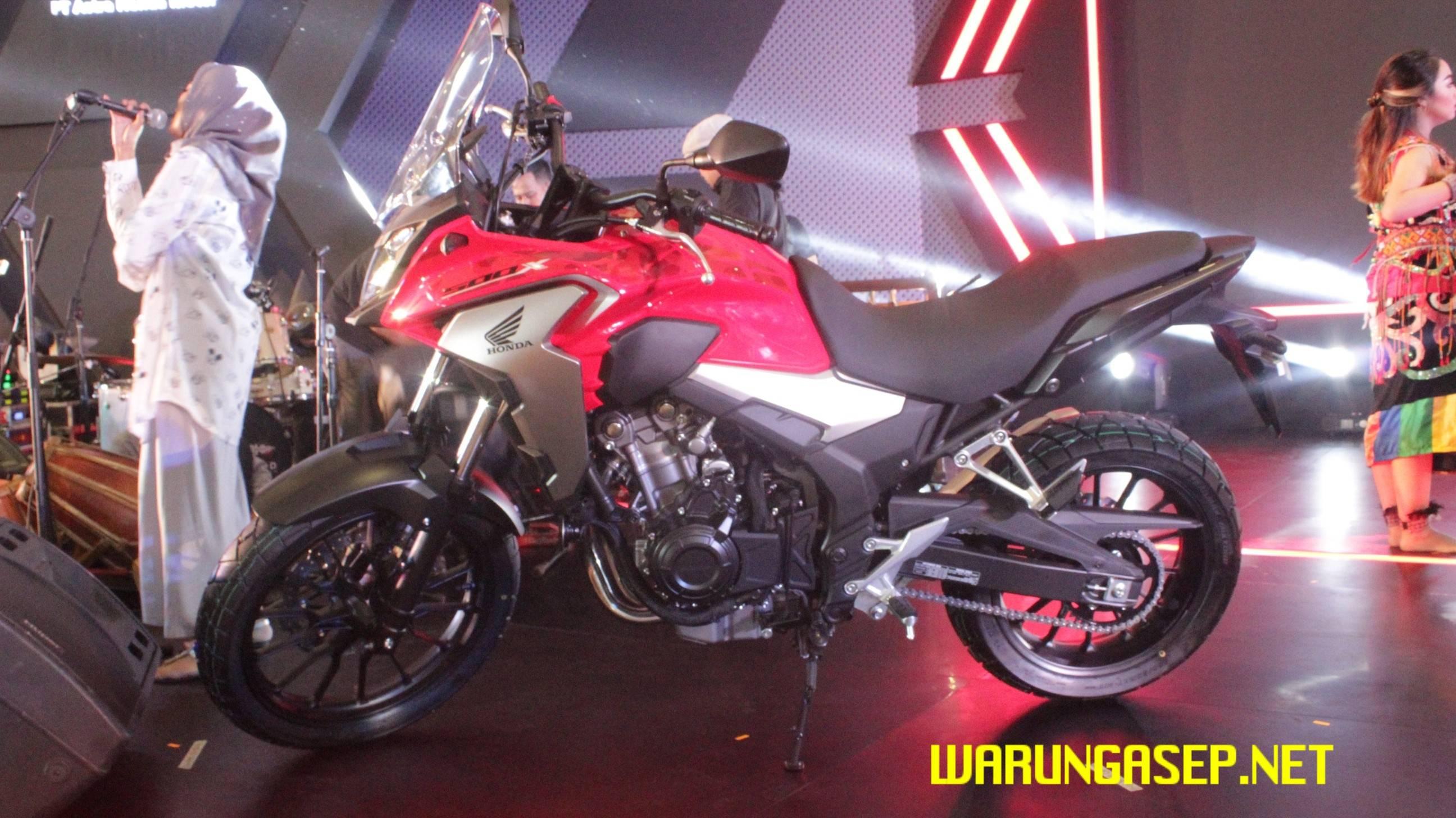 New Honda CBR500R 2016… Desain Baru, Knalpot Baru